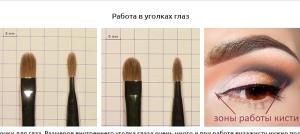 Кисти для макияжа какая для чего нужна