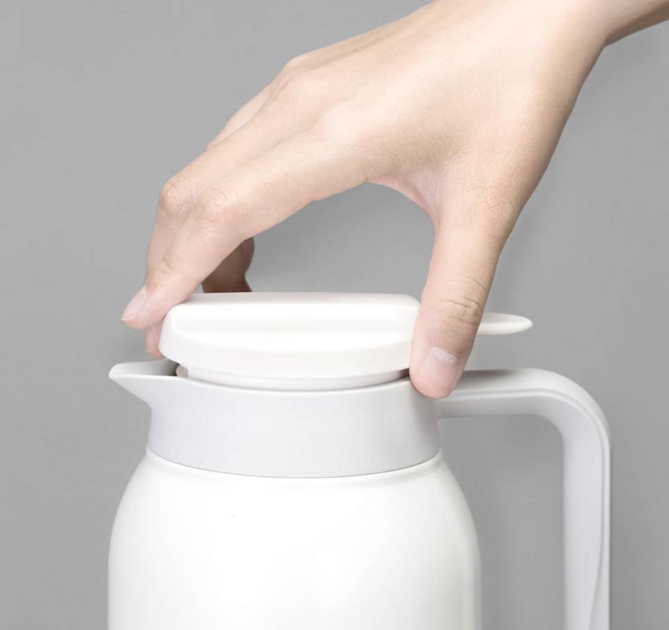 Термос Viomi stainless vacuum cup Black 1500 ml крышка