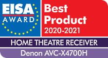 Denon AVR-X4700H award