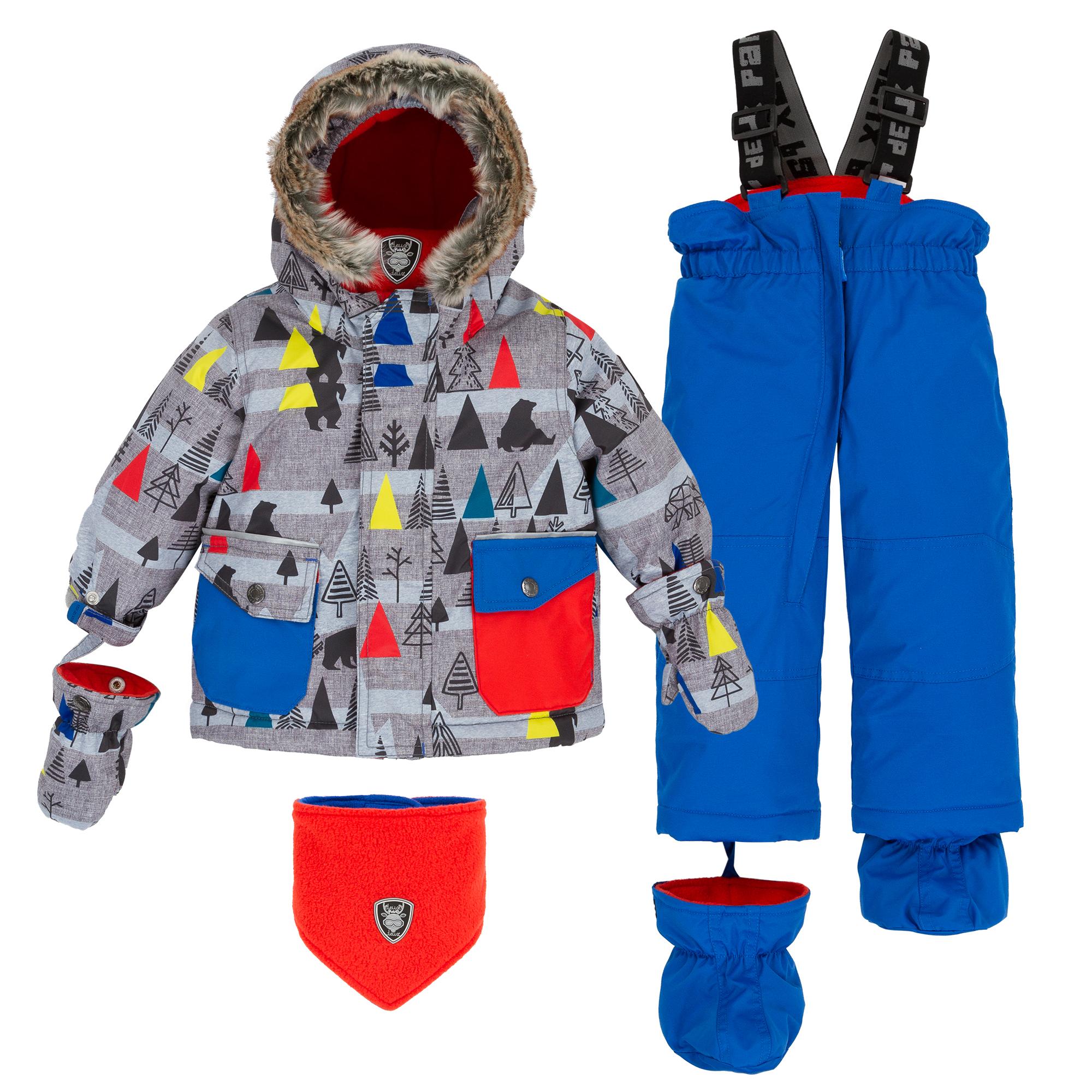 зимний костюм deux par deux