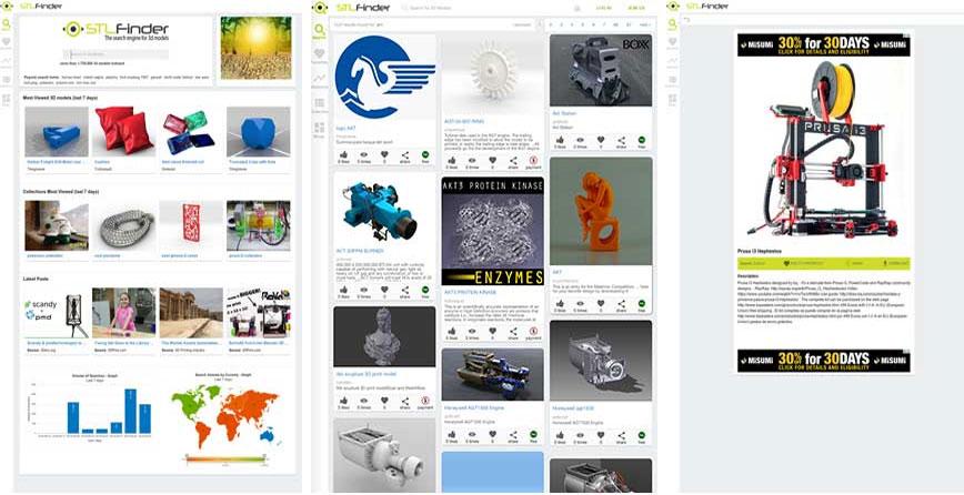 stlfinder поисковик 3д файлов для принтера