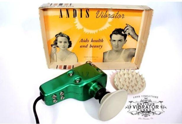 Винтажный вибратор Vibrosage (1933 год) – вибромассажер для тела и головы