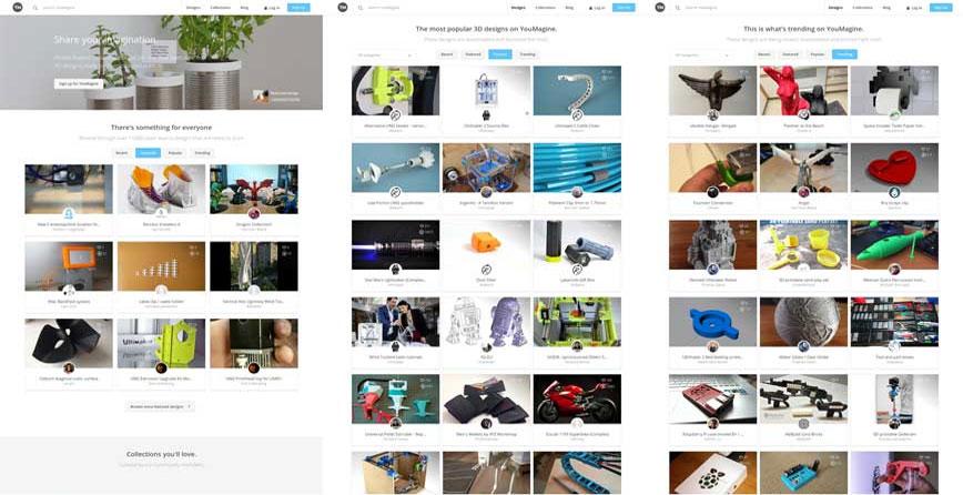 YouMagine модели для 3D принтера