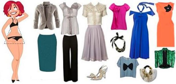 Одежда для типа фигуры «треугольник»