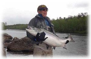 Виктор Гребенников. Изобретатель. На рыбалке.
