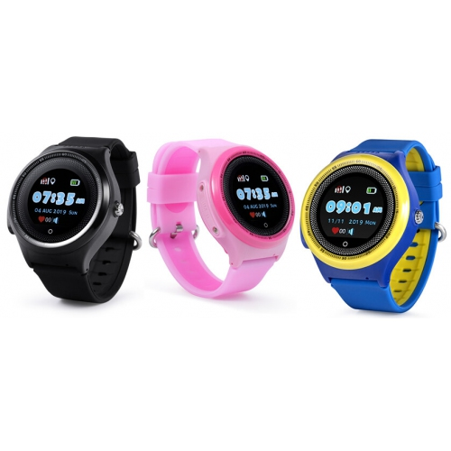 Детские часы с GPS трекером Smart Baby Watch KT06 Водонепроницаемые