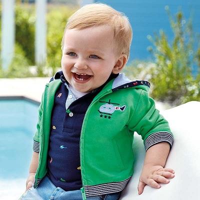 Одежда Mayoral Весна-Лето 2019, куртка зеленая для мальчиков