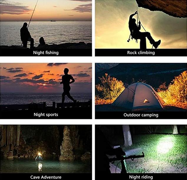 купить налобный фонарь для рыбалки