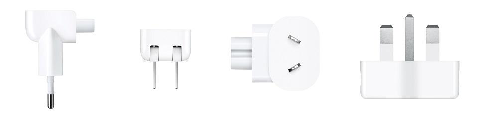 Apple World Travel Adapter Kit MD837ZM/A - Оригинальный комплект переходников для зарядных устройств произведенных компанией Apple.