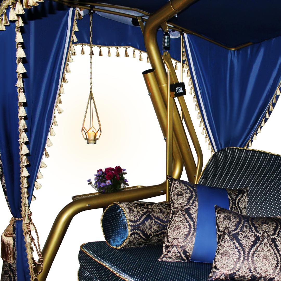 Княгиня синие Подушки