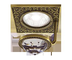 Испанские встраиваемые светильники FEDE Crystal