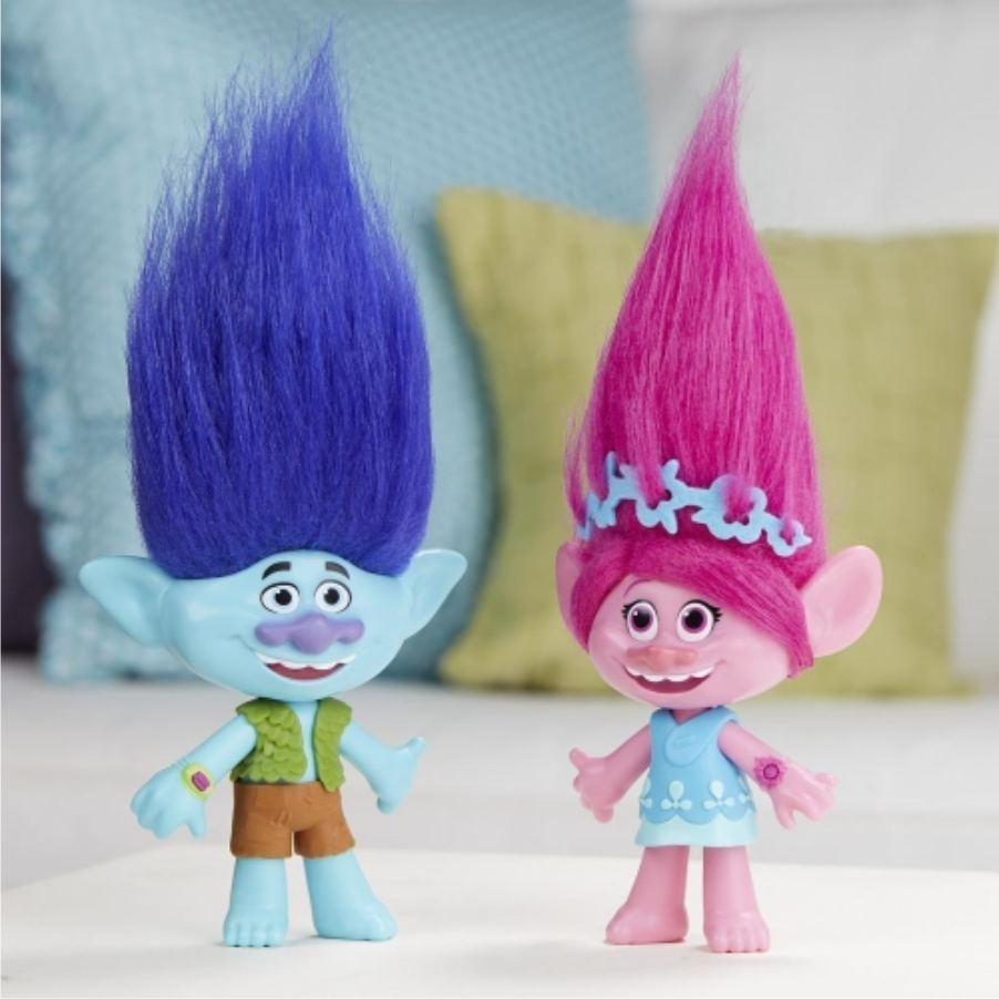 Куклы Цветан и Розочка - Тролли