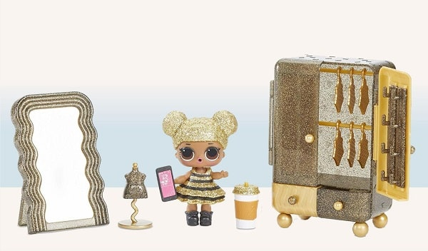 Набор мебели с куклой ЛОЛ - Бутик с Квин Би