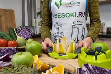 Как подготовить продукты для сока?