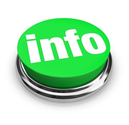 Информационная кнопка