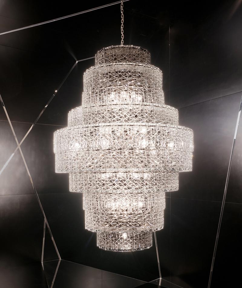 Светильник Tuile de Cristal от Baccarat