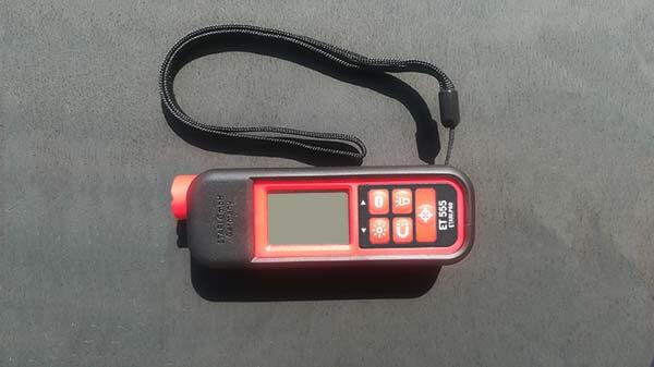 Комплектация толщиномера Етари etari ET 555 с силиконовым чехлом