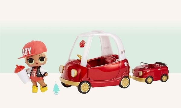 Игровой набор мебели с куклой ЛОЛ - Уютное купе с M.C. Swag
