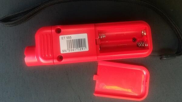 Батарейный отсек толщиномера ЛКП Етари etari ET555