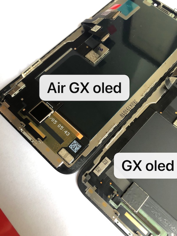 lcd iphone x OLED