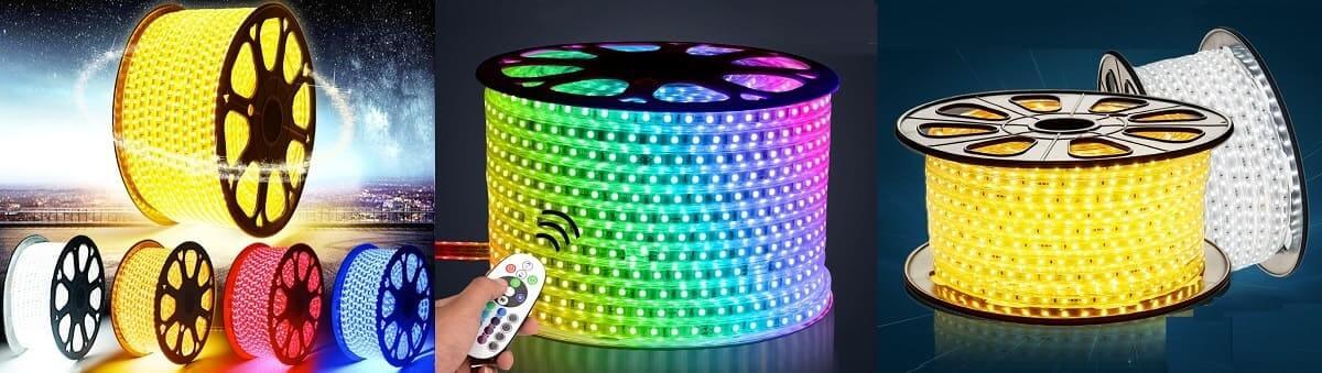 Светодиодная гирлянда дюралайт LED