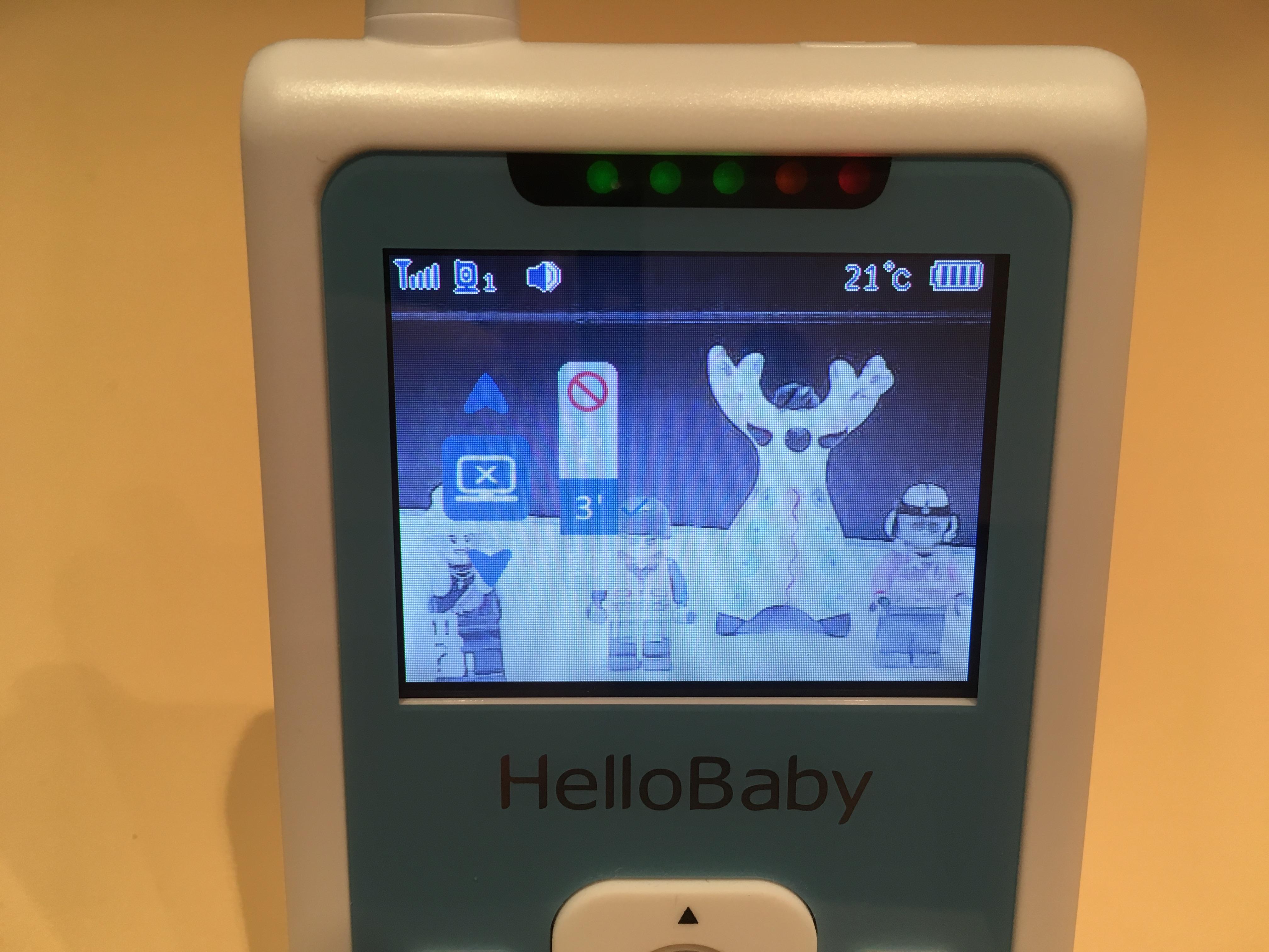 Видеоняня HelloBaby HB25