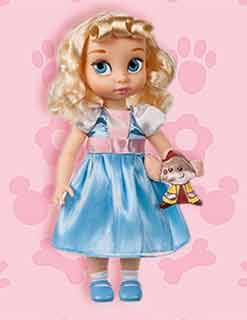 Кукла Золушка от Диснея с питомцем