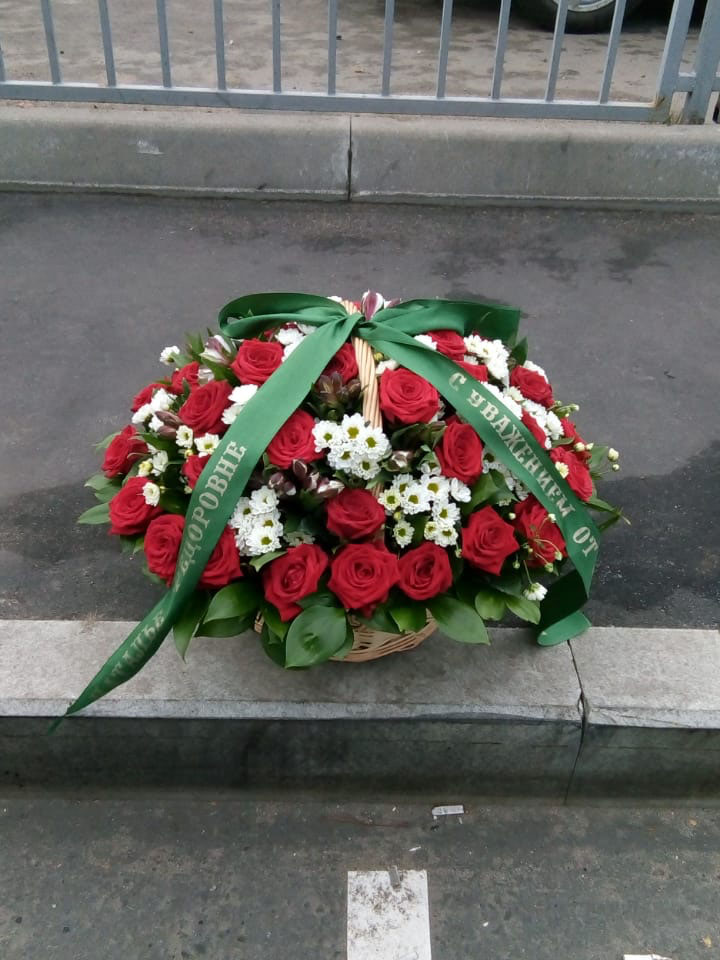 Ритуальная корзина КЖ-09