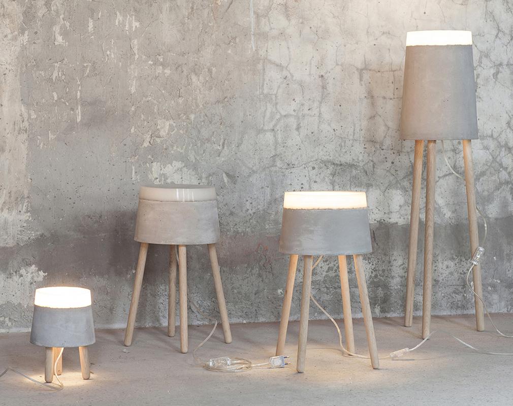 Светильник Concrete Lights от Renate Vos