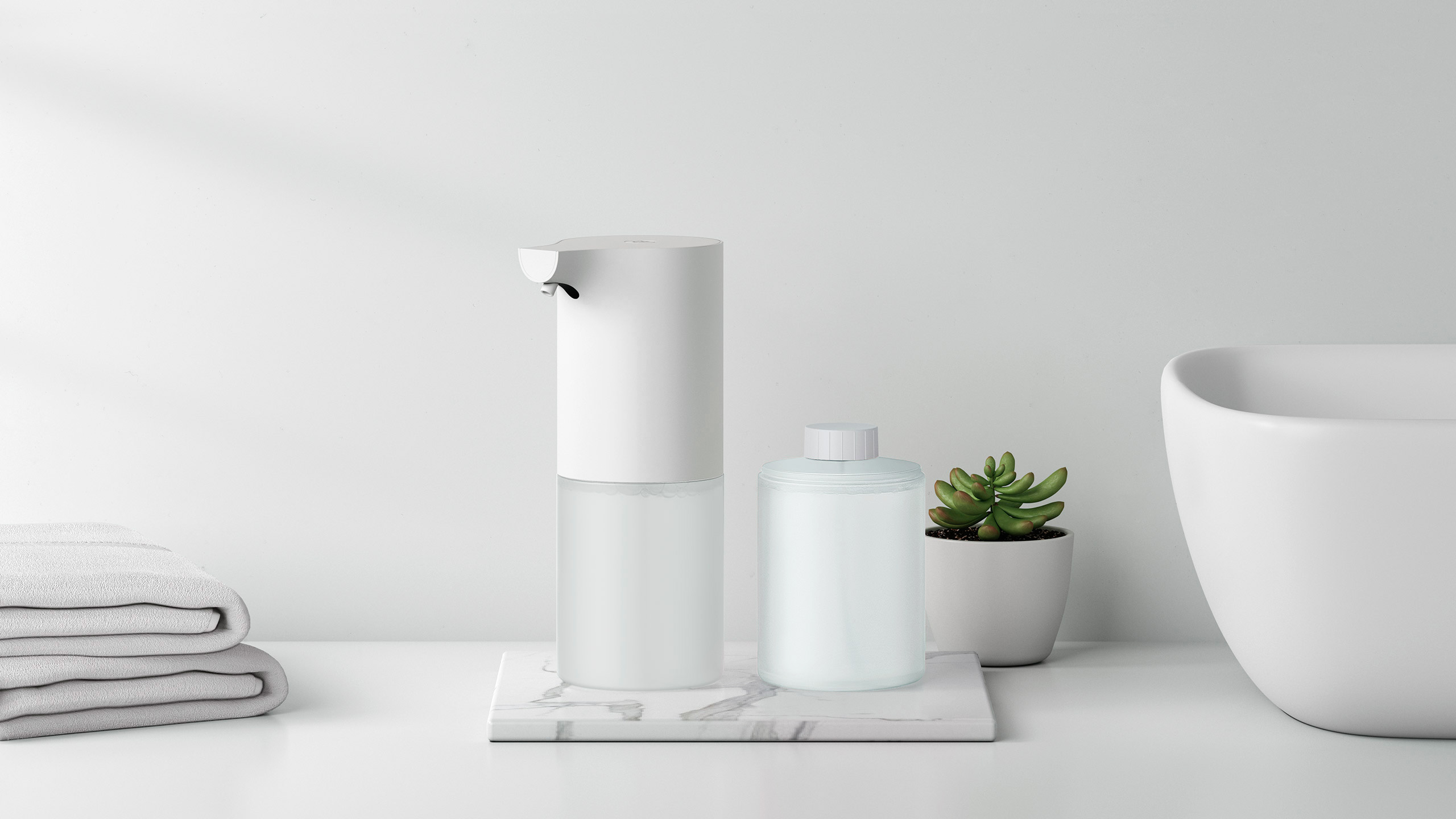 Сенсорная мыльница Xiaomi Mijia Automatic Foam Soap Dispenser