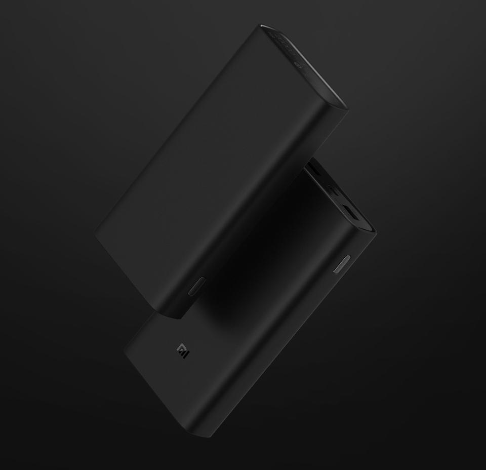 Универсальная батарея Xiaomi Mi Power bank 3 20000mAh крупным планом