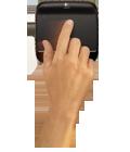 Одно-пальцевое управление