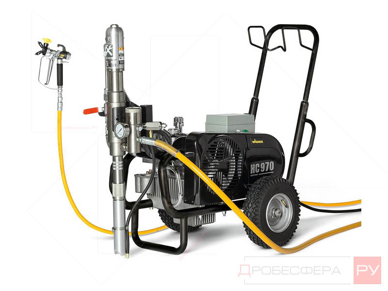Окрасочный аппарат с бензиновым приводом