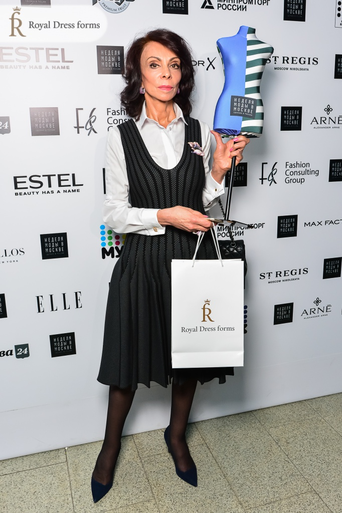 Лиза Романюк и Royal Dress forms