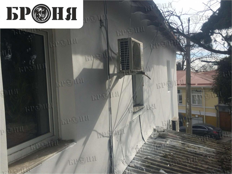 Ялта. Утепление фасада многоквартирного дома