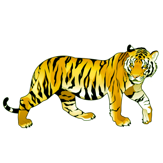 желтый тигр