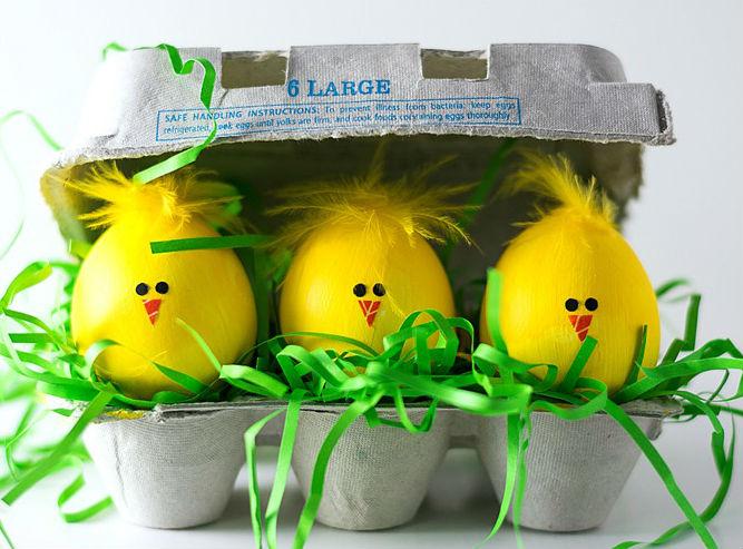 как разукрасить яйца на пасху