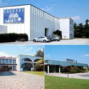 Фото фабрики Caleffi