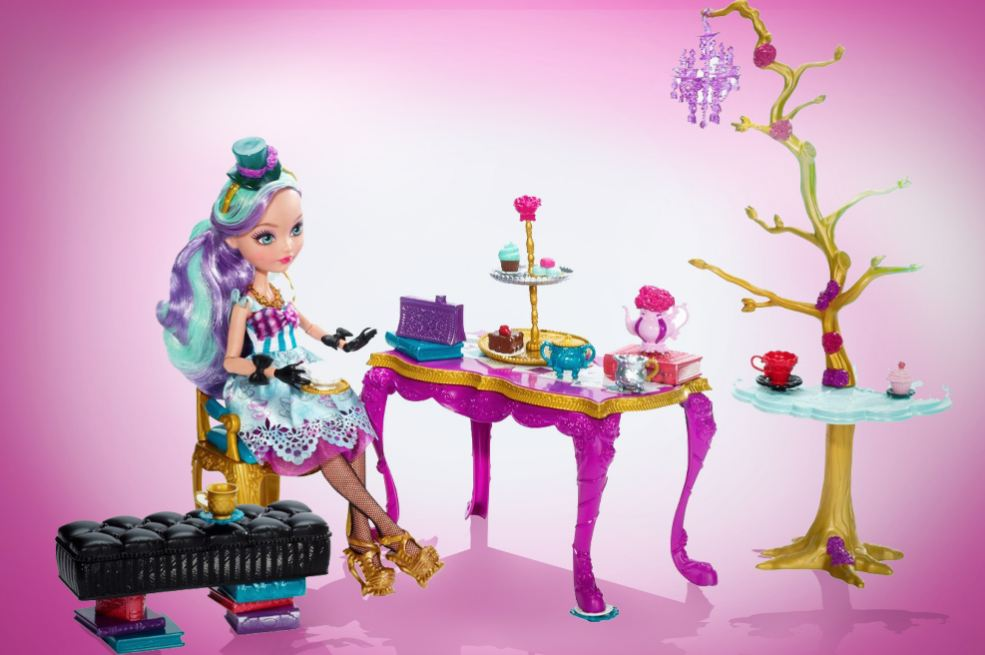 """Игровой набор """"Чайная вечеринка"""" с Меделин Хеттер"""