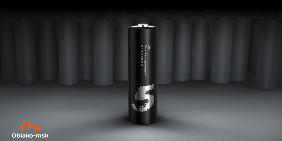 Аккумуляторные батарейки Xiaomi ZI5 Ni-MH Rechargeable Battery (HR6-AA) (4 шт.)