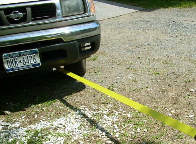 Буксировка автомобиля на тросе