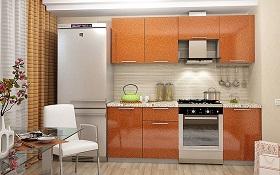 СОФИЯ-2100 Оранж Мебель для кухни