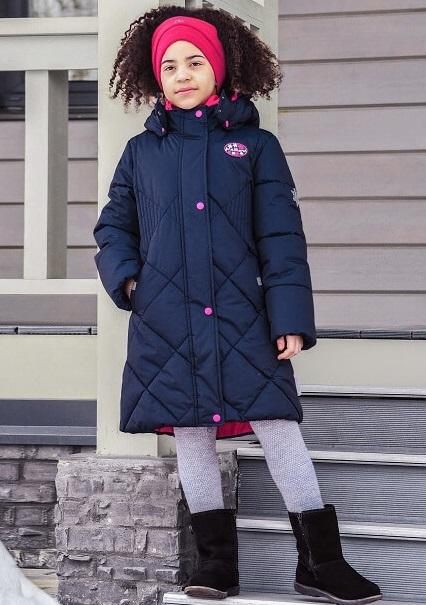 Пальто Premont зимнее для девочек Мод Льюис в интернет-магазине Premont-shop!
