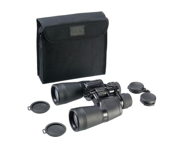 Бинокль Veber zoom 10-22x50 черный - фото комплекта поставки