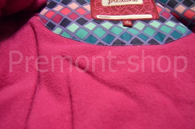 Флисовый подклад на комплекте Premont Витражи Сент-Томас