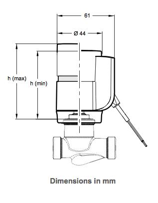 Размеры VA-7070