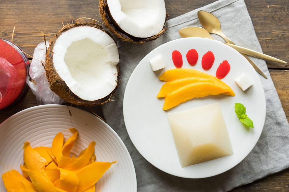 кокосовое желе
