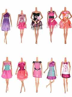 Наряды для кукол Barbie Де Люкс