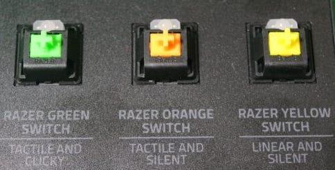 Переключатели Razer
