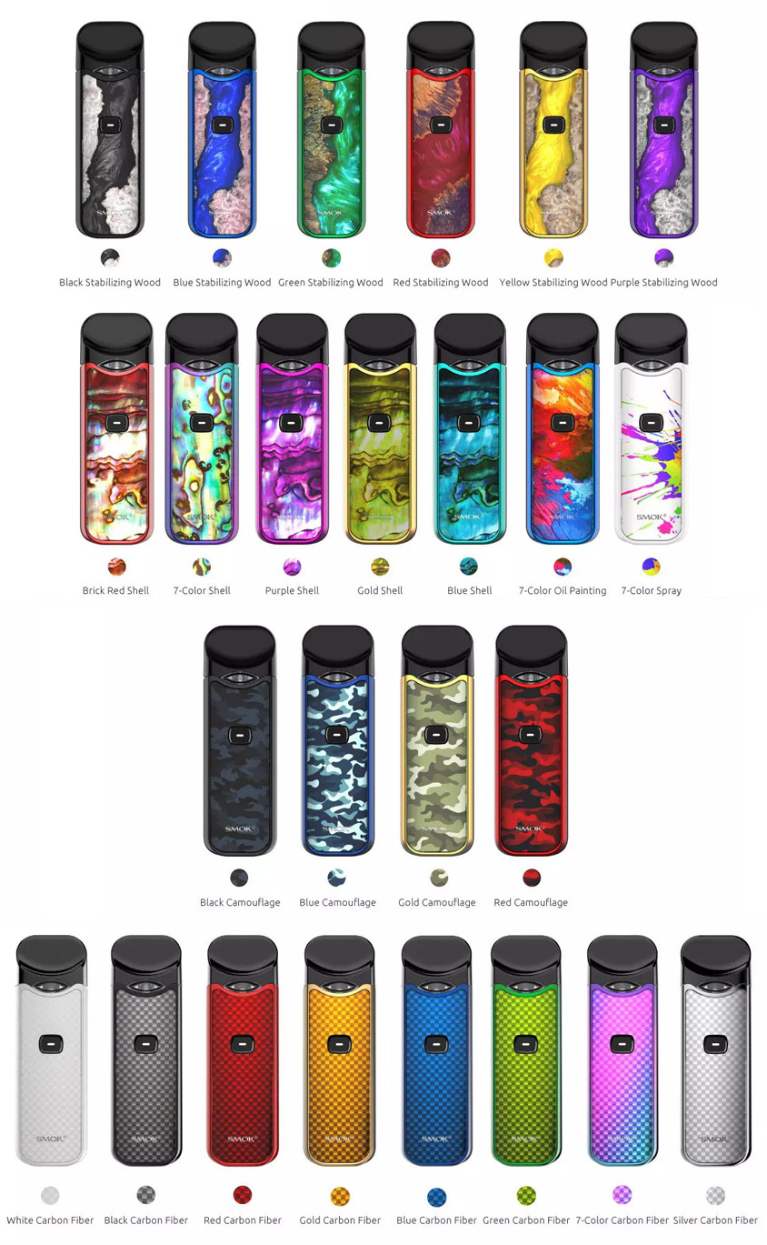 SMOK Nord Kit - New Colors